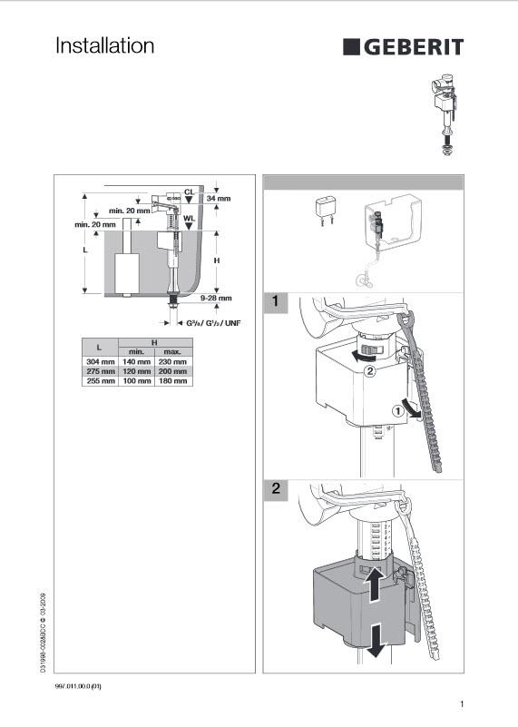 Унитазы sanita инструкция